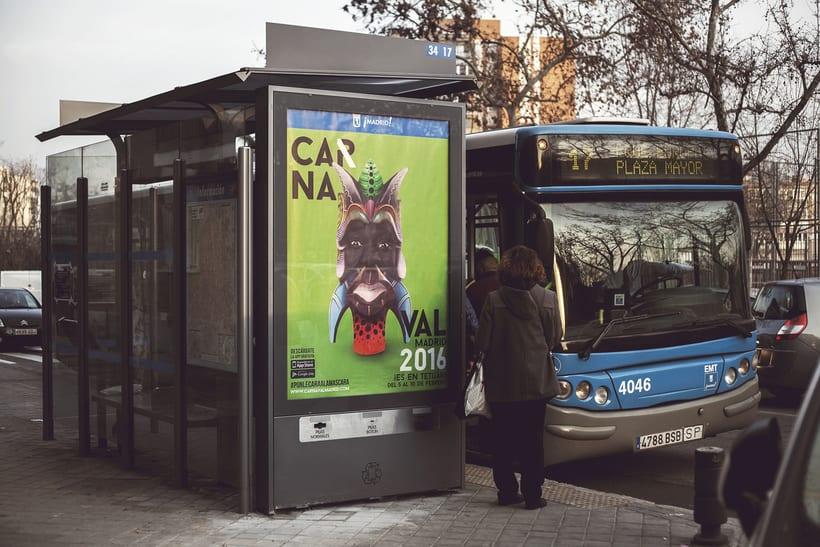 CARNAVAL 2016, Ayuntamiento de Madrid/ Diseño e imagen 10