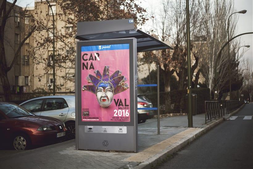 CARNAVAL 2016, Ayuntamiento de Madrid/ Diseño e imagen 11