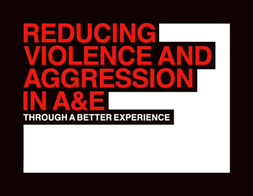 Reducing violence and aggression in A&E 1