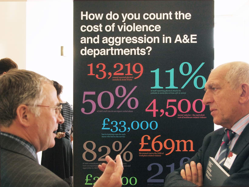 Reducing violence and aggression in A&E 8