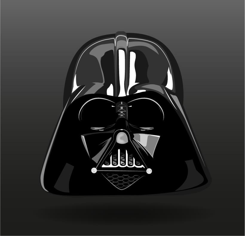 Ilustración de Darth Vader -1