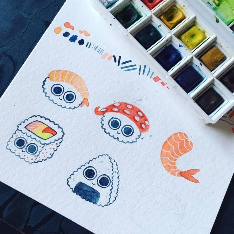 Sushi Patterns 1