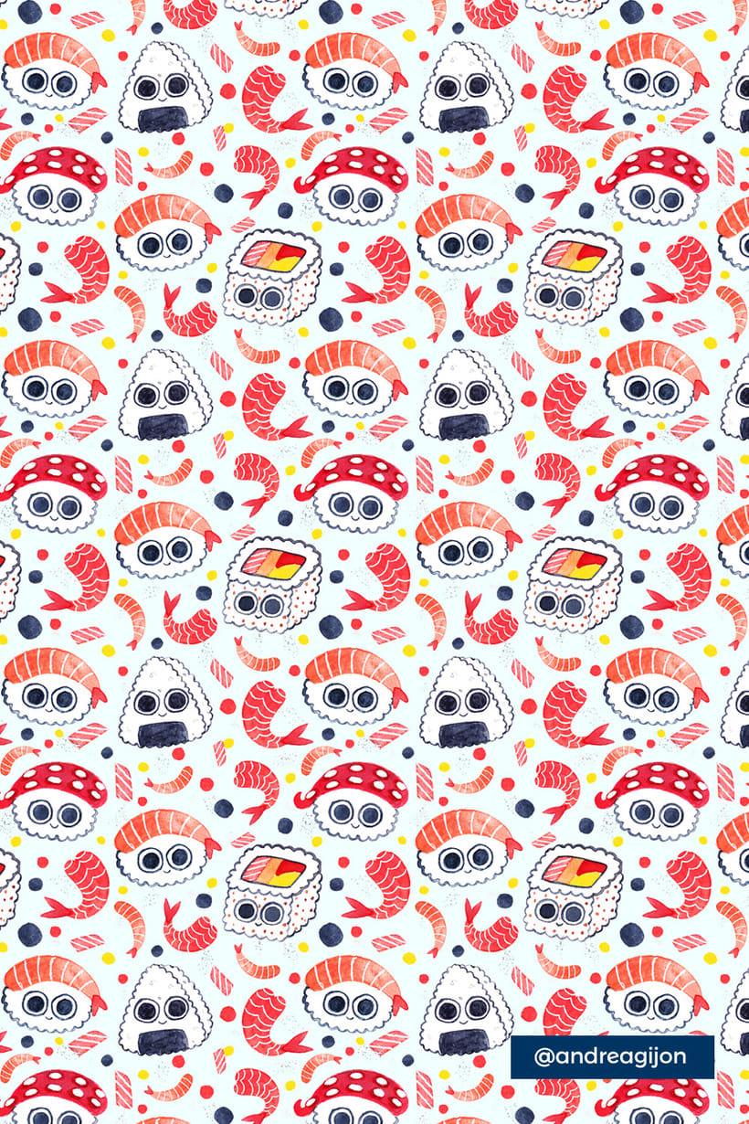 Sushi Patterns 4