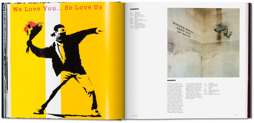 Art record covers, cuando las portadas musicales son arte 8