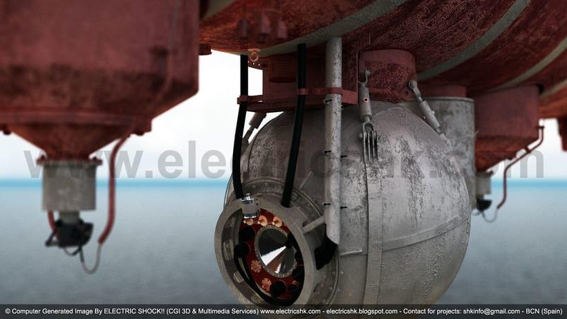 Batiscafo Trieste CGI 3D 6