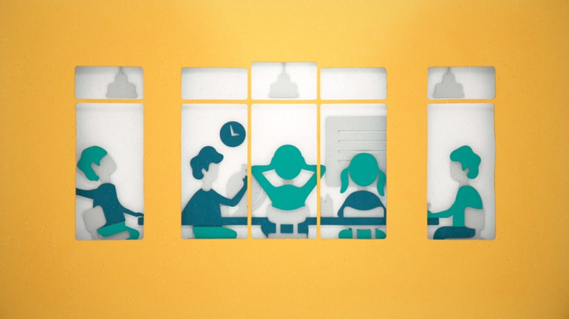 ABN AMRO Bank Public Sector Animation 6