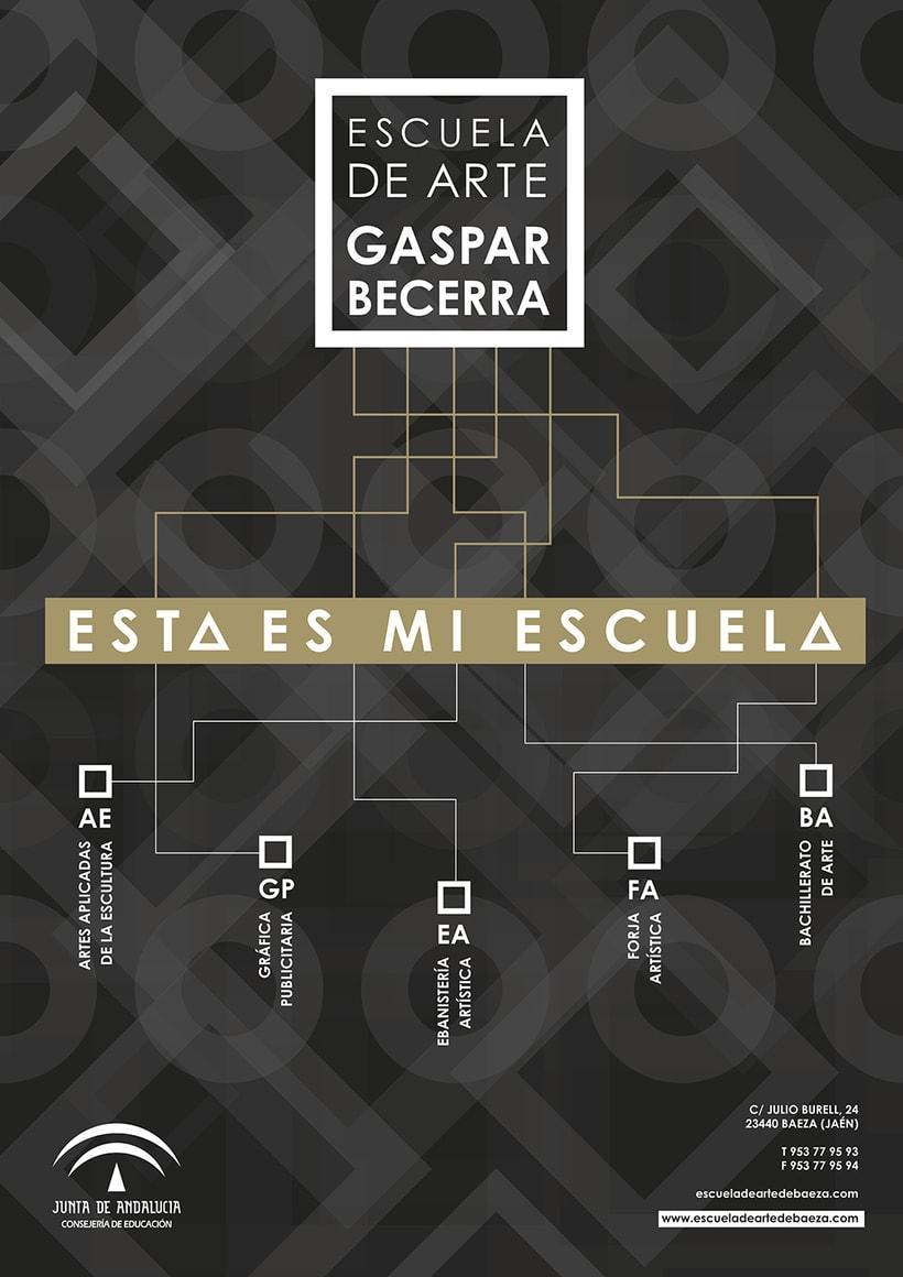 Cartel para el Encuentro Creativo en Jaén  -1