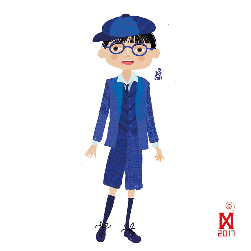 Character design for a new children's literature project 7