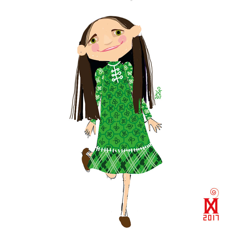 Character design for a new children's literature project 8
