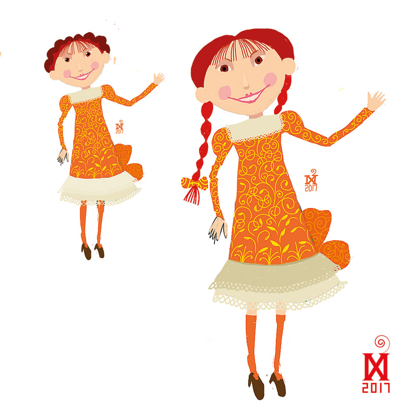 Character design for a new children's literature project 9