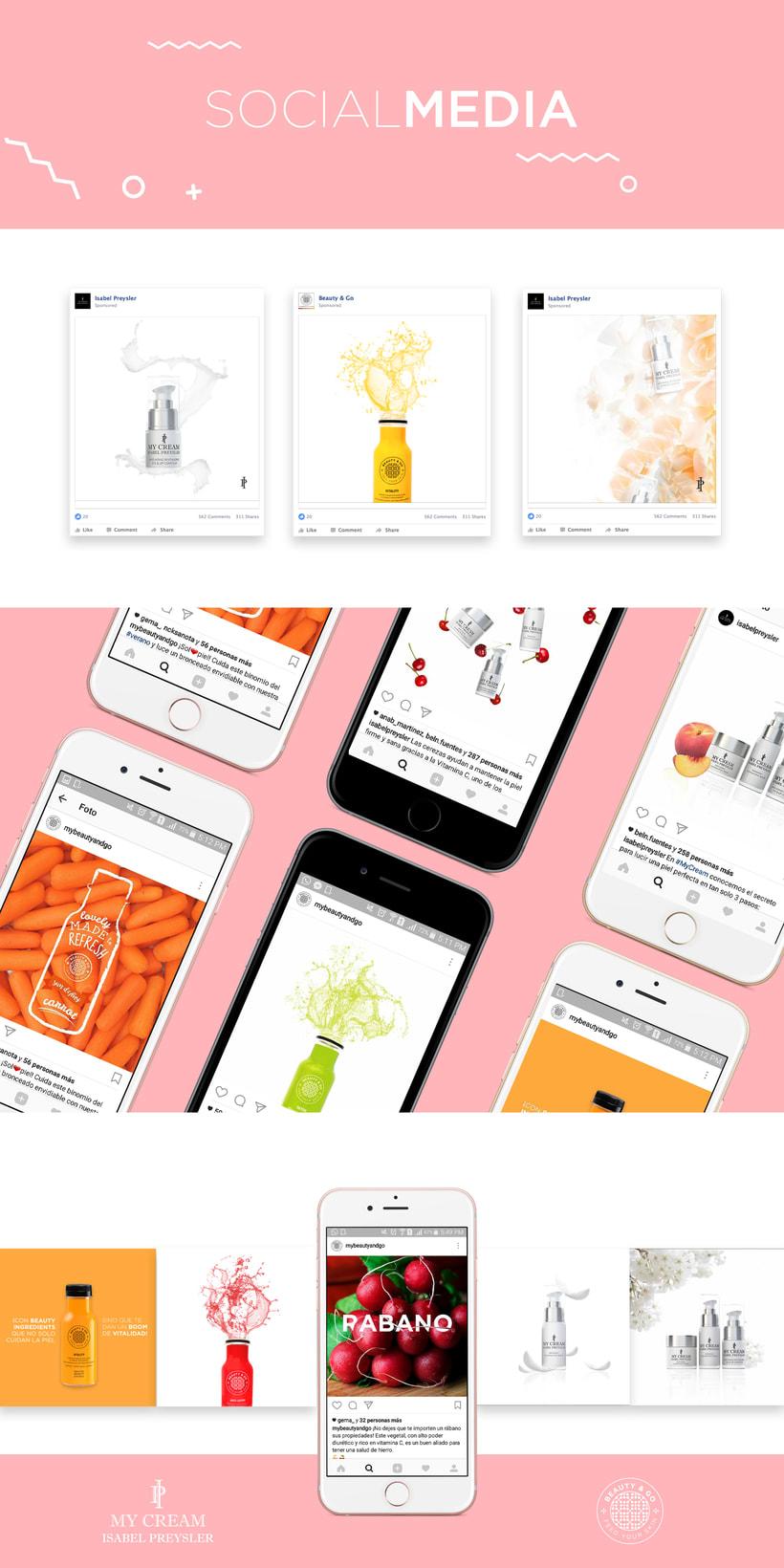 Social Media - Beauty & Go - My Cream Isabel Preysler  -1