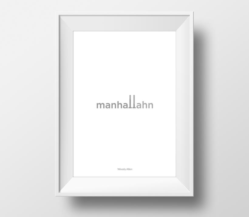 Cartelería minimalista 3