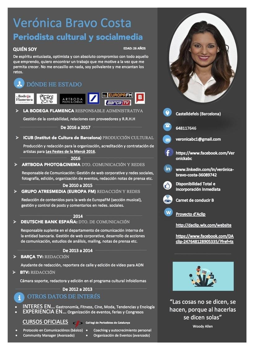 CV Verónica Bravo Costa  -1