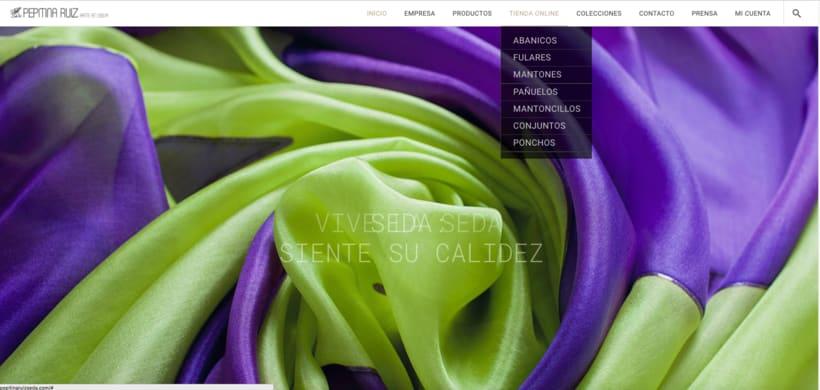 Web con tienda online, para un cliente. 0