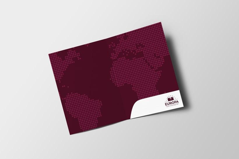 Diseño imagen corporativa Librería Europa  8