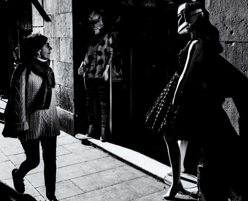 Barcelona en blanco y negro  0