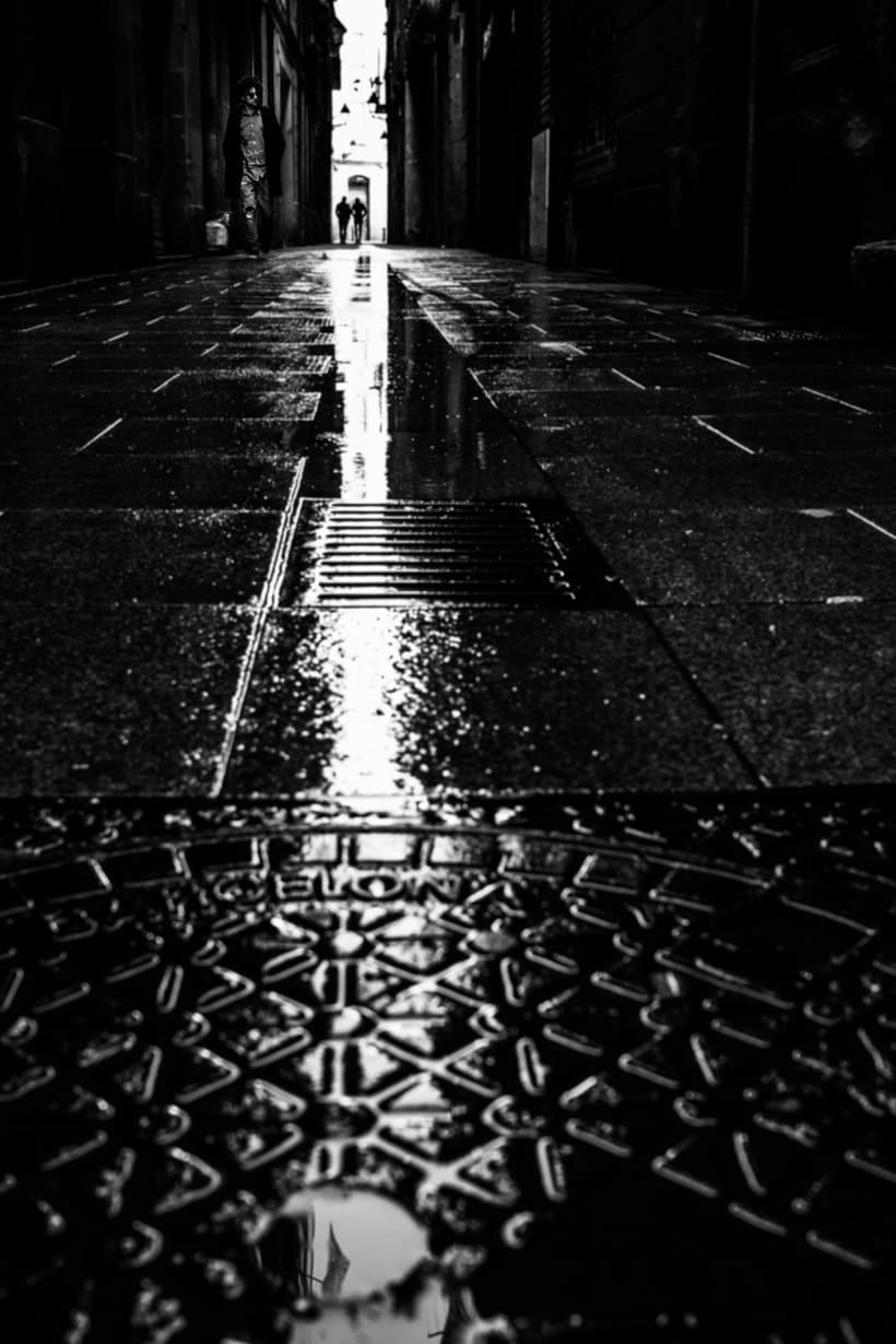 Barcelona en blanco y negro  1
