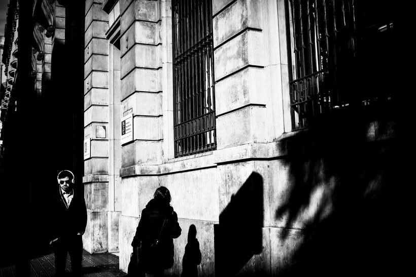 Barcelona en blanco y negro  2