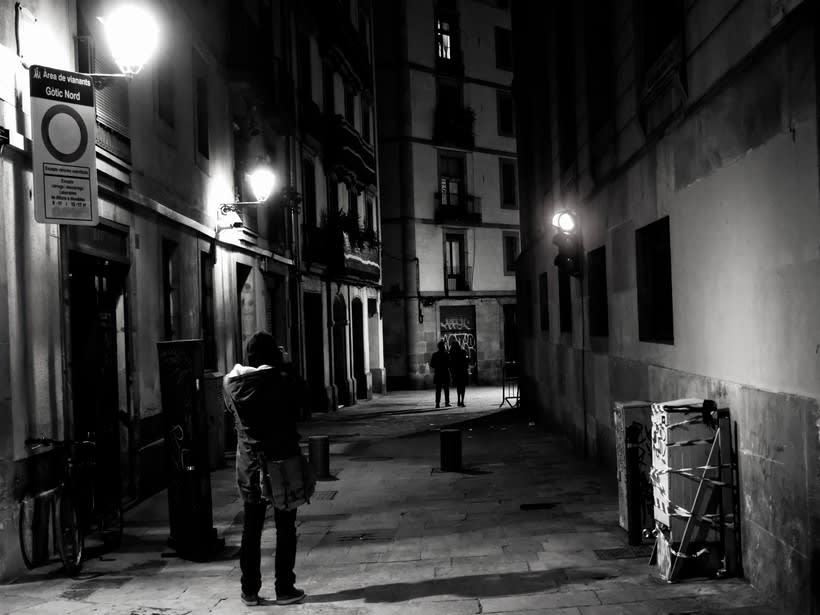 Barcelona en blanco y negro  4