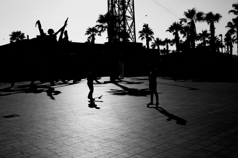 Barcelona en blanco y negro  5