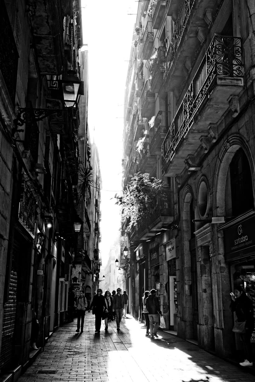 Barcelona en blanco y negro  7
