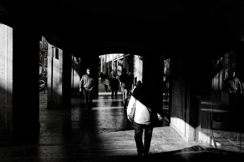 Barcelona en blanco y negro  8