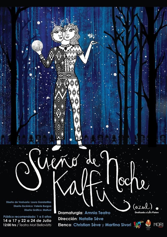 Sueño de Noche Kallfü - afiche teatro -1