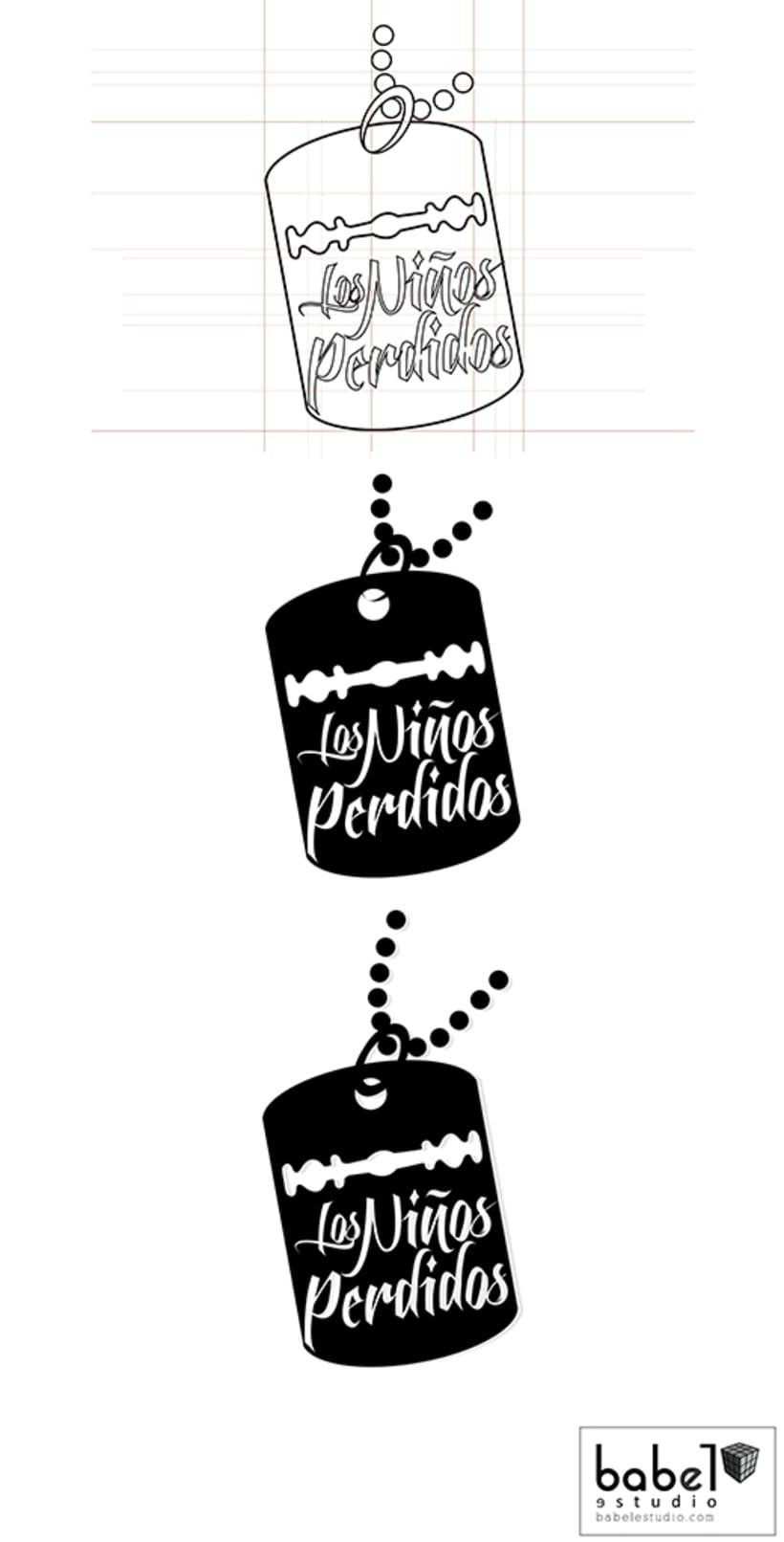 Diseño de logotipo Los Niños Perdidos -1