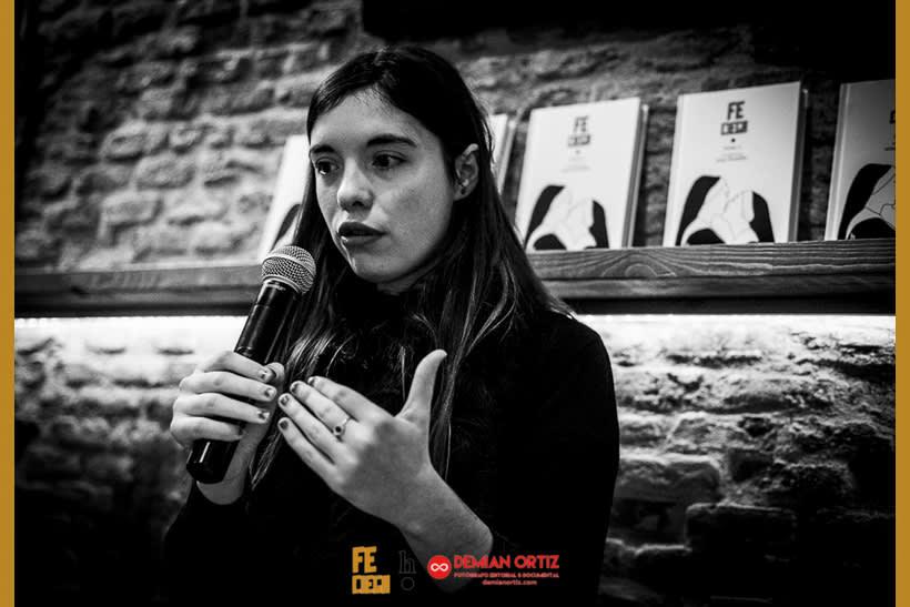 """Presentación del poemario de Irene X  """"Fe Ciega"""" 3"""