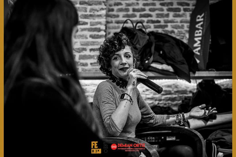 """Presentación del poemario de Irene X  """"Fe Ciega"""" 4"""