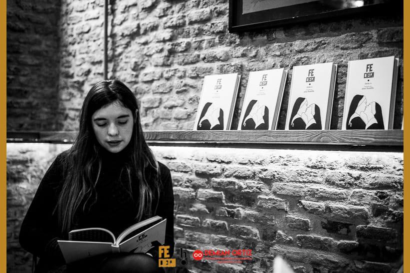 """Presentación del poemario de Irene X  """"Fe Ciega"""" 8"""