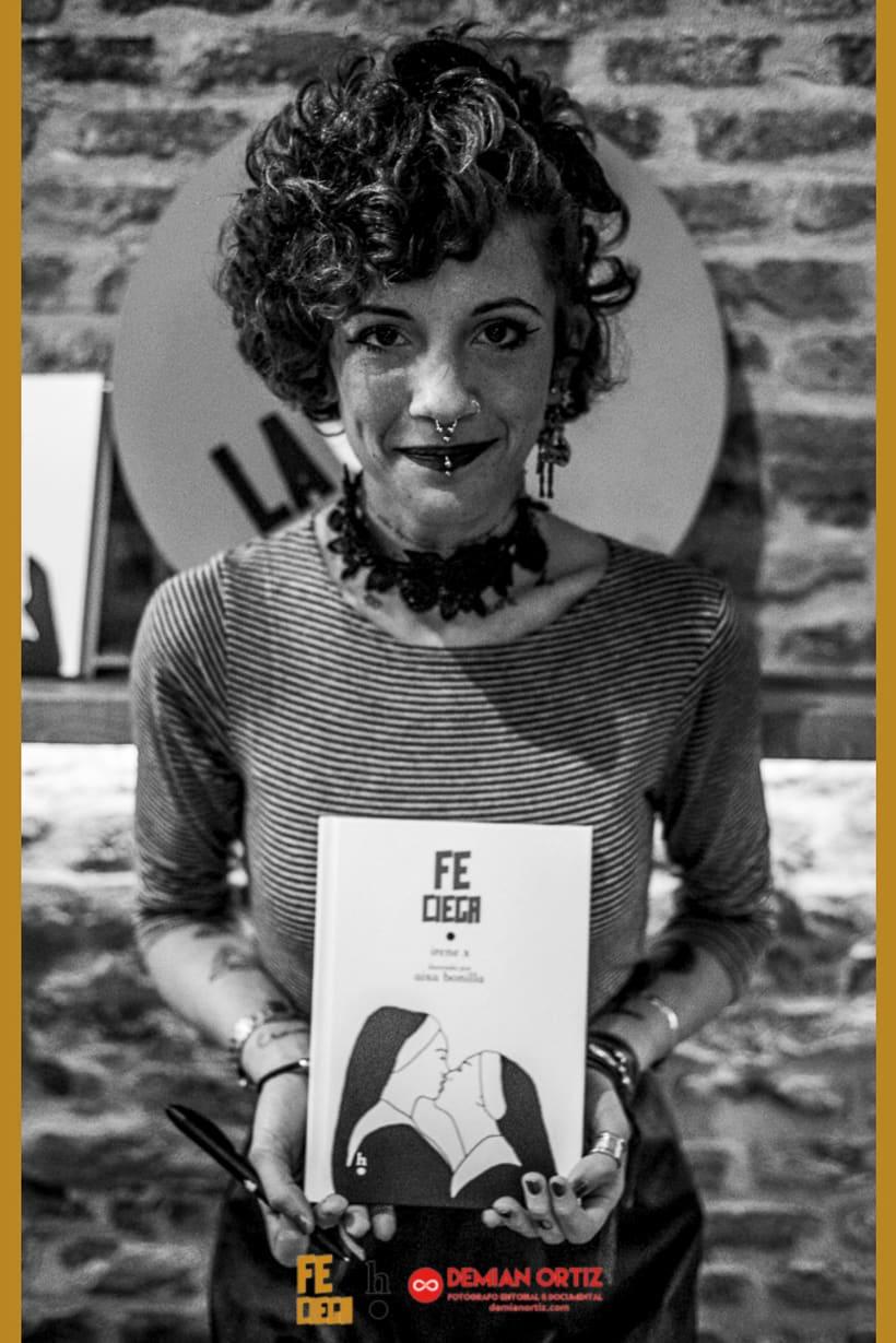 """Presentación del poemario de Irene X  """"Fe Ciega"""" 5"""