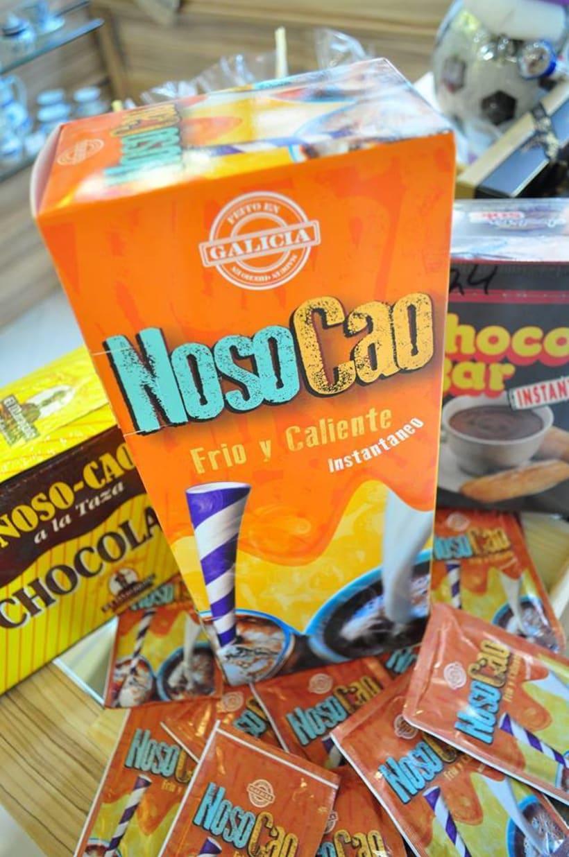 Diseño de empaque para chocolates, café. 1