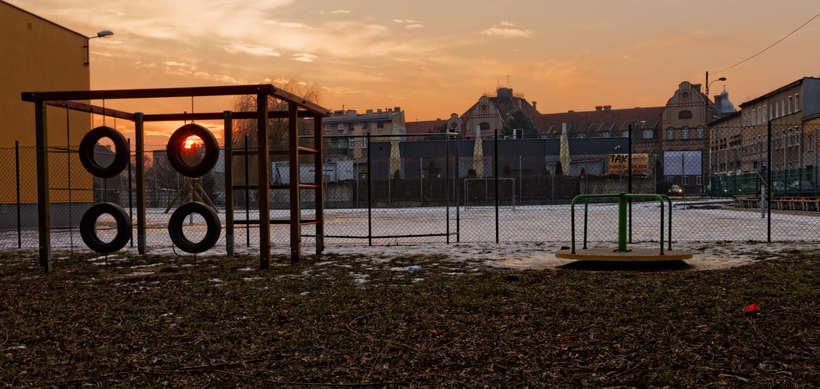 Paisajes del final de un invierno en Polonia  0