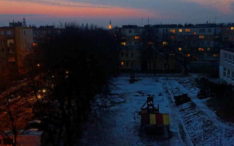 Paisajes del final de un invierno en Polonia  1