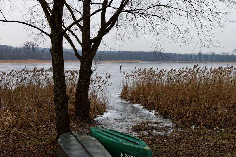 Paisajes del final de un invierno en Polonia  3