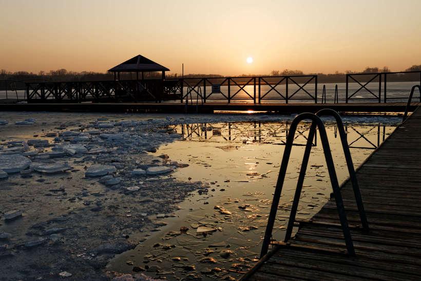 Paisajes del final de un invierno en Polonia  10