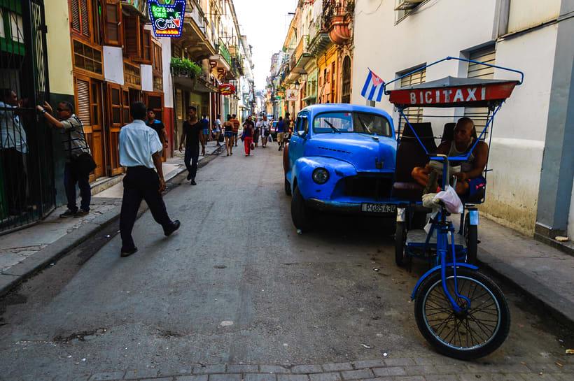 Las calles de la Habana vieja -1