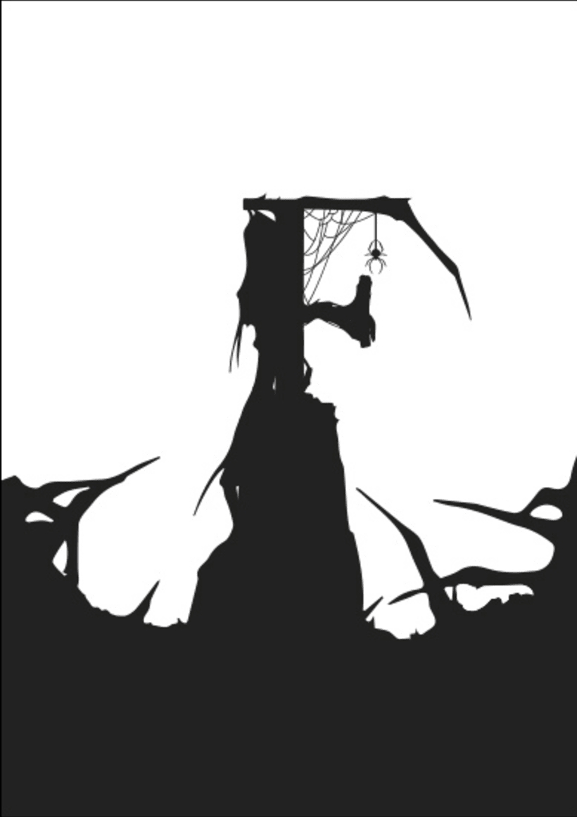 Maquetación e ilustración de libro - Frankenstein 3