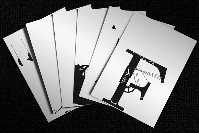Maquetación e ilustración de libro - Frankenstein 1