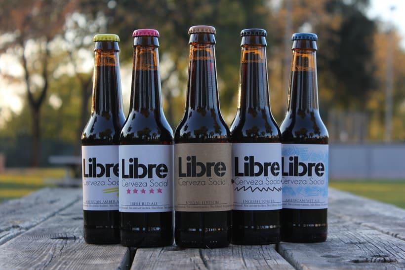 Etiqueta Cerveza - Libre 1