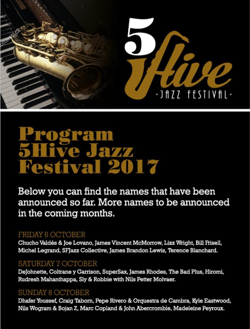 Festival de Jazz (Proyecto del curso Tipografía corporativa) 1