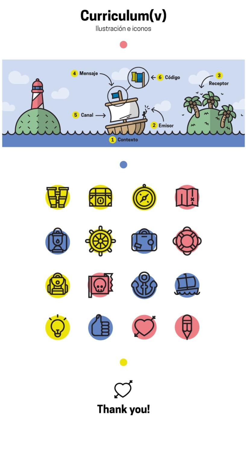 Curriculum(V) - Ilustración e iconos 0