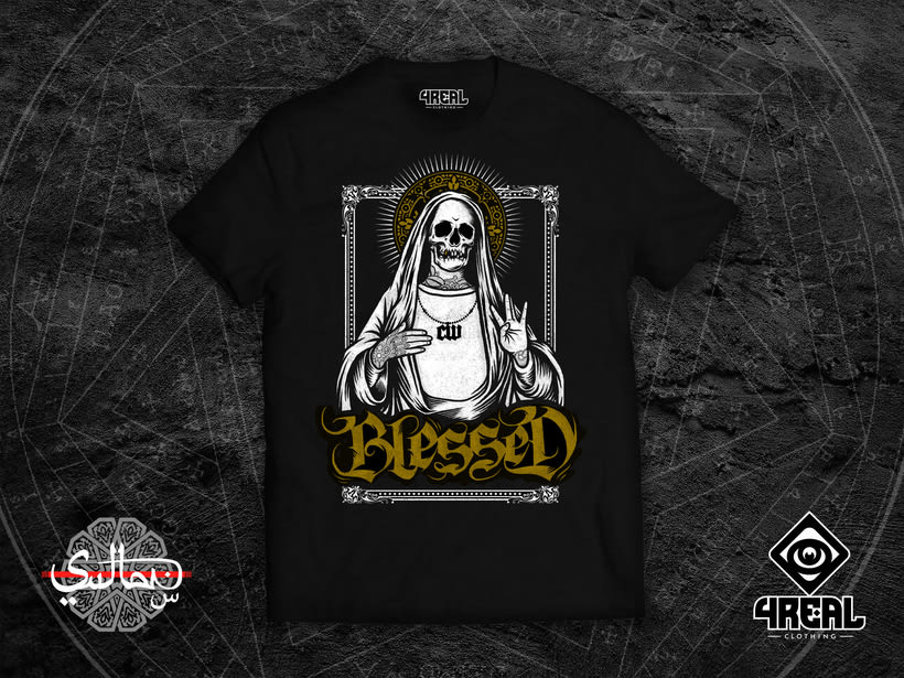 - Blessed - 4Real Clothing x Sultan  0