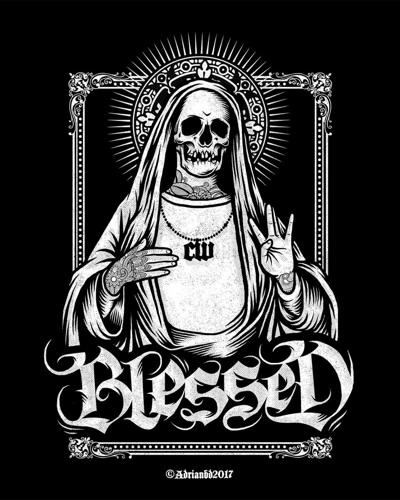 - Blessed - 4Real Clothing x Sultan  1
