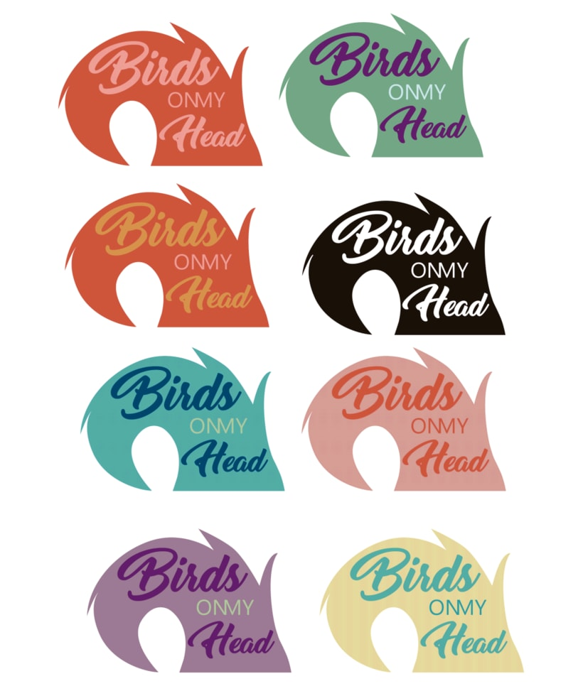 "MARCA CAMISETAS ""BIRDS ON MY HEAD"" 2"
