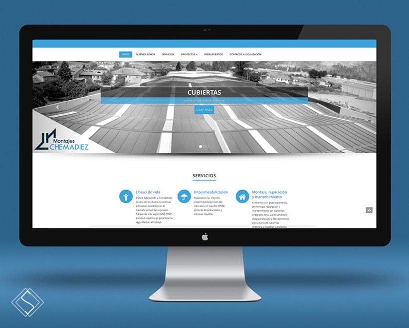 Diseño Web. Empresa del sector de la construcción -1