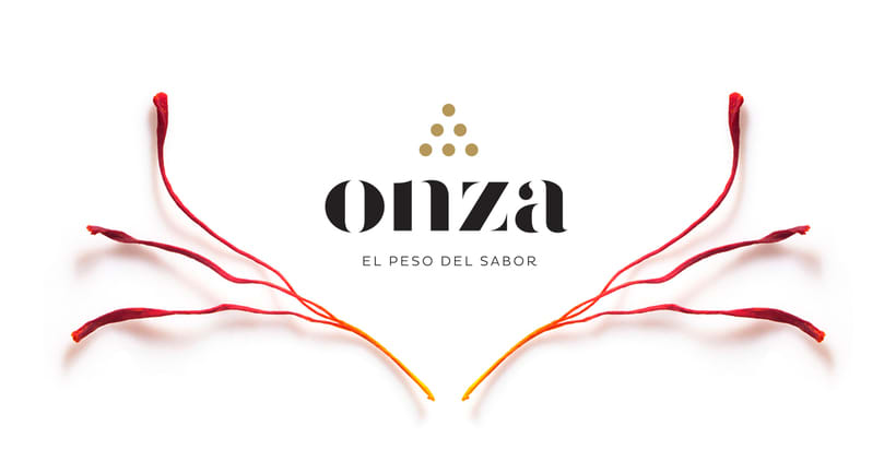 Onza Azafrán. Branding 0