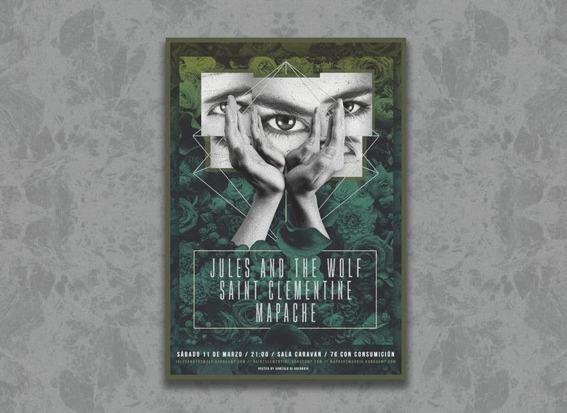 Jules & The Wolf + Saint Clementine + Mapache -1