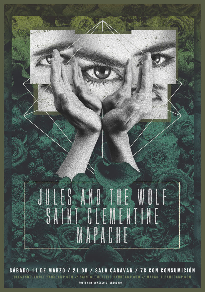 Jules & The Wolf + Saint Clementine + Mapache 0